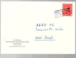 Zug Train WORB DORF Europa (442) - Lettres & Documents