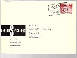 Zug Train LANGENTHAL SÜD Holzwollefabrik (443) - Suisse