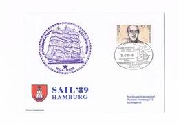 Deutsche Bundespost Berlin - Sail 1989 - Hamburg - [5] Berlin