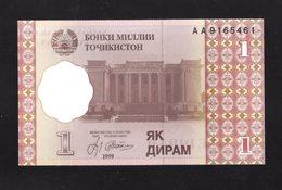 TAJIKISTAN  :  1  Diram  Del  1999  Pick  10  FdS  UNC - Tadjikistan