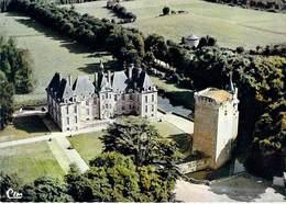 79 - SAINT LOUP SUR THOUET Vue Aérienne Le Chateau. CPSM - Saint Loup Lamaire