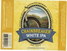 Deschutes - Chainbreaker White IPA (USA) - Bière
