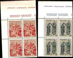 74852) ITALIA-QUARTINA-Arte Normanna In Sicilia - 16 Marzo 1974 -MNH** - 6. 1946-.. Repubblica
