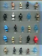 Au Choix 5 Micropopz STAR WARS (Leclerc) Voire Liste Et Contition De Vente - Star Wars