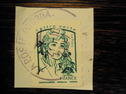 2016 Timbre AA - Cachet Rond - 2013-... Marianne De Ciappa-Kawena