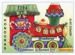 Lote H15, Honduras, 2010, HF, SS, Navidad, Christmas - Honduras