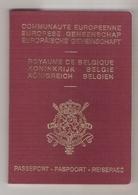 Passeport Belge (1997) - Old Paper