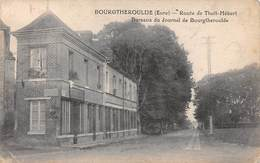 27  .  N° 201137   .     BOURGTHEROULDE  .  BUREAUX  DU JOURNAL DE BOURGTHEROULDE - Bourgtheroulde