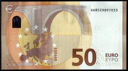 SPAIN - VA - V008 B1 -  UNC  - FDS - DRAGHI -  50 EURO - CODE  VA8529897053 - EURO