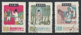 °°° CHINA TAIWAN FORMOSA - Y&T N°776/78/80 - 1971 °°° - 1945-... República De China