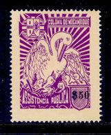 ! ! Mozambique - 1943 Postal Tax - Af. IPT52 - No Gum - Mozambique