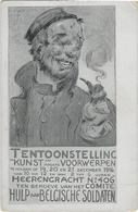 ALFRED OST, TENTOONSTELLING 1916 HEERENGRACHT VOOR HULP AAN BELGISCHE SOLDATEN - Mechelen