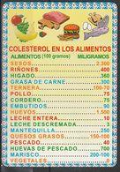 Calendario Bolsillo Colesterol En Alimentos 2014 C.B. Nº109 Pocket Calendar Kalender Calendrier Kalendar - Tamaño Pequeño : 2001-...