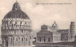 Pisa Piazza Del Duomo Coi Principali Monumenti- Non Circulé - Pisa