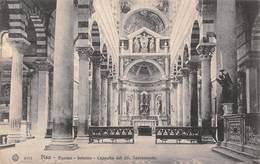 Pisa Duomo Interno Cappela Del SS Sacramento - Non Circulé - Pisa