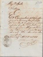 E6217 SPAIN ANT. ESPAÑA. 1879. SHP CIENFUEGOS DOCs TRINIDAD TO BATABANO. - Documentos Históricos