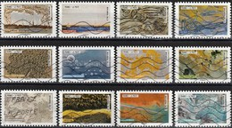 France 2018 - Works Of Nature ( Mi 6927/38 - YT Ad1502/13 ) Complete Issue - Luchtpost