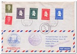 Nederland 1952, Jan Van Riebeeck Vlucht, Amsterdam-Kaapstad - Periode 1949-1980 (Juliana)