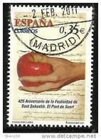 2011-ED. 4626-SERIE  COMPLETA -FIESTAS POPULARES.S.SEBASTIAN EN EL PONT DE SUERT-USADO - 1931-Hoy: 2ª República - ... Juan Carlos I