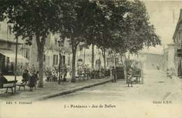020119 - 34 POMEROLS Jeu De Ballon - Balle Au Tambourin ? - France