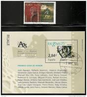 2011-ED. 4649 Y 4650- SERIE COMPLETA -SELLO Y H.B. -25 ANIV. DE LOS PREMIOS GOYA DE CINE Y MEJOR PELICULA-USADO - 1931-Hoy: 2ª República - ... Juan Carlos I
