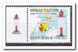 Estland 2018, Postfris MNH, Lighthouses - Curaçao, Nederlandse Antillen, Aruba