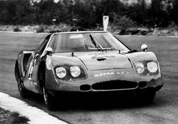 Matra-BRM M620  -  1000kms Spa-Francorchamps 1966  -  Pilotes: Servos-Gavin/Rees  -   Carte Postale - Le Mans