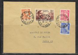 LOT 1901076 - N° 437 SUR LETTRE DE PARIS DU 11/12/39 POUR PARIS - 1921-1960: Modern Period