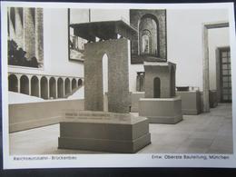 Postkarte Architektur Ausstellung München 1938 1939 - Photo Hoffmann - Deutschland