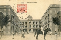 Tunisie - Tunis - Quartier Forgemol - Túnez