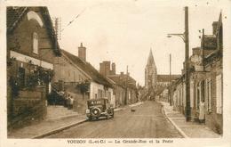 41 VOUZON La Grande Rue Et La Poste CPSM PF Ed Lenormand - Altri Comuni