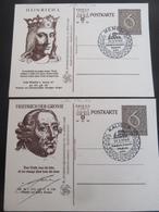 Postkarte WHW Mit Zudruck Reichsstrassensammlung Und Sonderstempel - 1940 - Deutschland