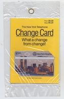 USA - NEW YORK, The New York Telephone Change Card, Original Verpackt, 5,25 $ - Vereinigte Staaten