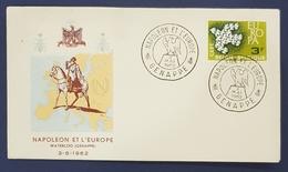 1962 Covers, Napoleon Et L'Europe, Waterloo, Genappe, Belgium, België, Belgique - Belgique