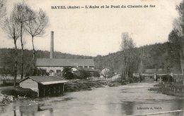 (84) CPA  Bayel  L'Aube Et Le Pont Du Chemin De Fer  (Bon état) - France