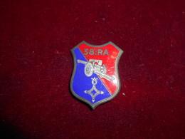 INSIGNE  38 RA SAHARA FAB DP - Army