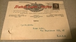 ITALIA EMA 1934 FRATELLI DALDI MILANO - Affrancature Meccaniche Rosse (EMA)