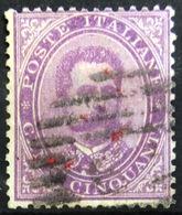 ITALIE                       N° 38                    OBLITERE - 1878-00 Humbert I