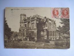CPA LA LOUVIERE Le Chateau De Mr Boch 1926 T.B.E. - La Louviere