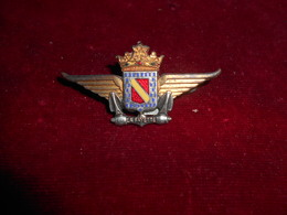 INSIGNE MARINE BATEAU LA FAYETTE FAB AUGIS LYON - Army