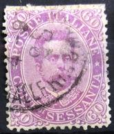 ITALIE                       N° 43                    OBLITERE - 1878-00 Humbert I