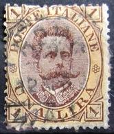 ITALIE                       N° 44                    OBLITERE - 1878-00 Humbert I