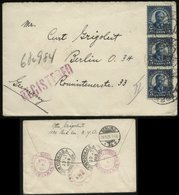 S1462 USA,R - Briefumschlag: Gebraucht New York - Berlin 1925, Bedarfserhaltung. - Etats-Unis