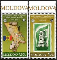 Moldova 2005 Scott 496-497 MNH First Europa Stamps - Moldavia
