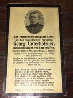 Sterbebild Wk1 Ww1 Bidprentje Avis Décès Deathcard RIR2 BAILLEUL 15. Juni 1915 Aus Rothenwörth - 1914-18