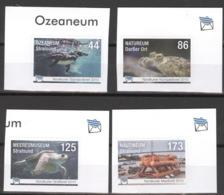 Privatpost Nordkurier 2010 4 Werte Meeresmuseum Ungezähnt ** Postfrisch - BRD