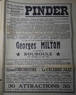 CIRQUE PINDER- PLACARD PUBLICITAIRE SUR LA RÉPUBLIQUE DES CEVENNES, Hebdo Radical Du Samedi 15 Avril 1939 - Publicités