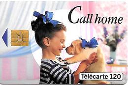 CARTE-a-PUBLIC-F472-120U-SO3-05/94-DN -8 N° Centrés-CALL HOME--UTILISE-TBE - France