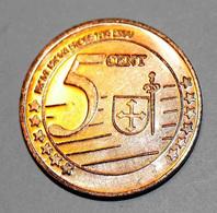 Madeira - Madère 2005 BU EURO PATTERN EURO ESSAI 5 Cents - Portugal - 5 Euro Cent - Essais Privés / Non-officiels