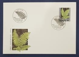1993 FDC, Pro Juventute Ausgabetag, Bern, Suisse, Switzerland, Helvetia - Lettres & Documents